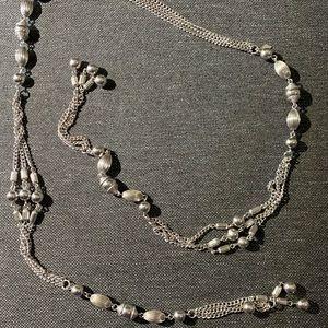Vtg open necklace